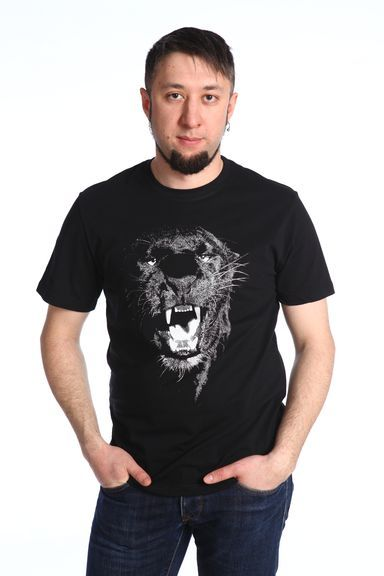 Пантера футболка мужская