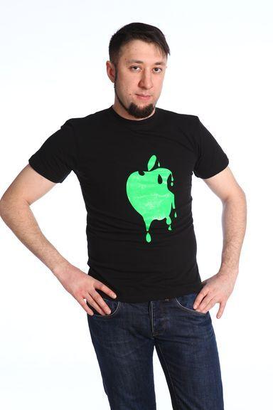 Яблоко футболка мужская