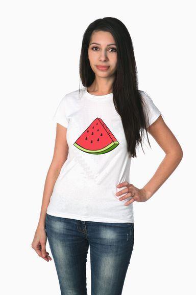 Арбузик футболка женская