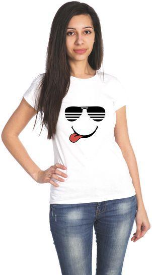 ОЧКИ  футболка женская
