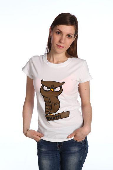 Филин футболка женская